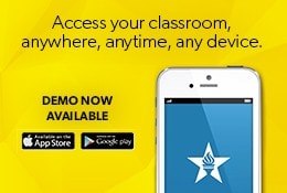 Access your classroom, anywhere, anytime, any device