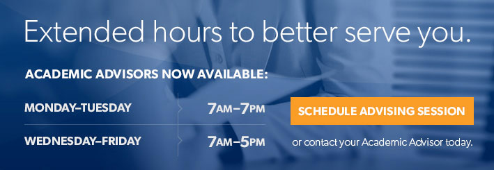 Academic Advising Extended Hours