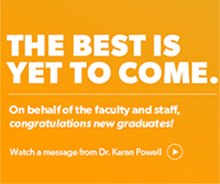 Watch video from Dr. Karan Powell