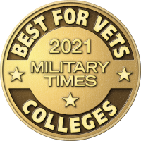 2020 Military Times Best for Vets Colleges Seal