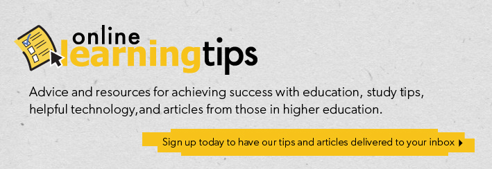 Sign up for the Online Learning Tips weekly newsletter!