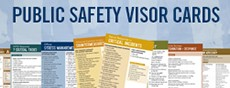 Public Safety Visor Cards