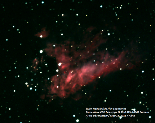 Image from telescope